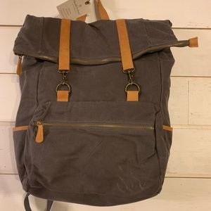 NWT Hearth and Hand by Magnolia Canvas Backpack